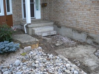 Front Porch / Deck - During