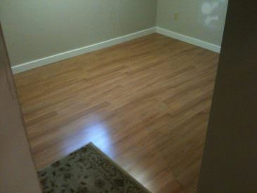 Laminate Floor- After