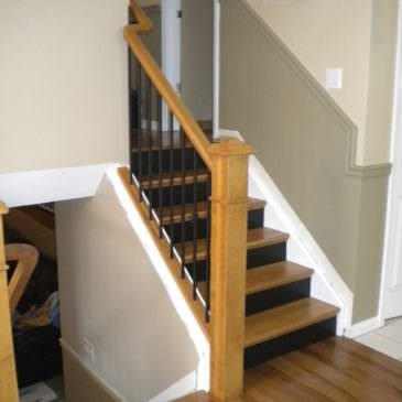 New Floor & Stairs